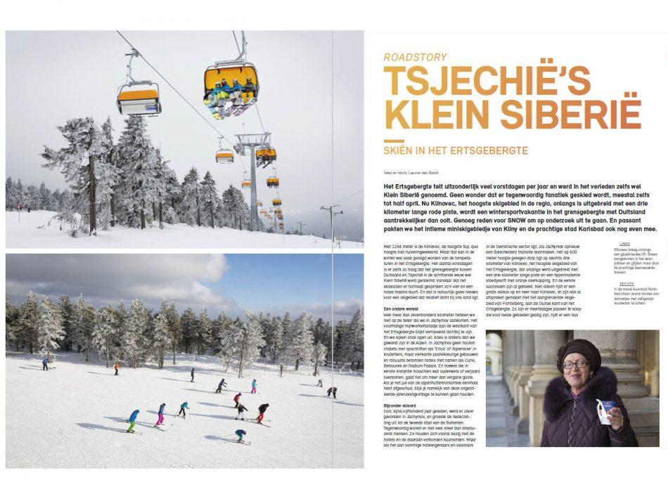 Reportage voor SNOW magazine over skiën in het Ertsgebergte (Tekst & Beeld Lex van den Bosch)