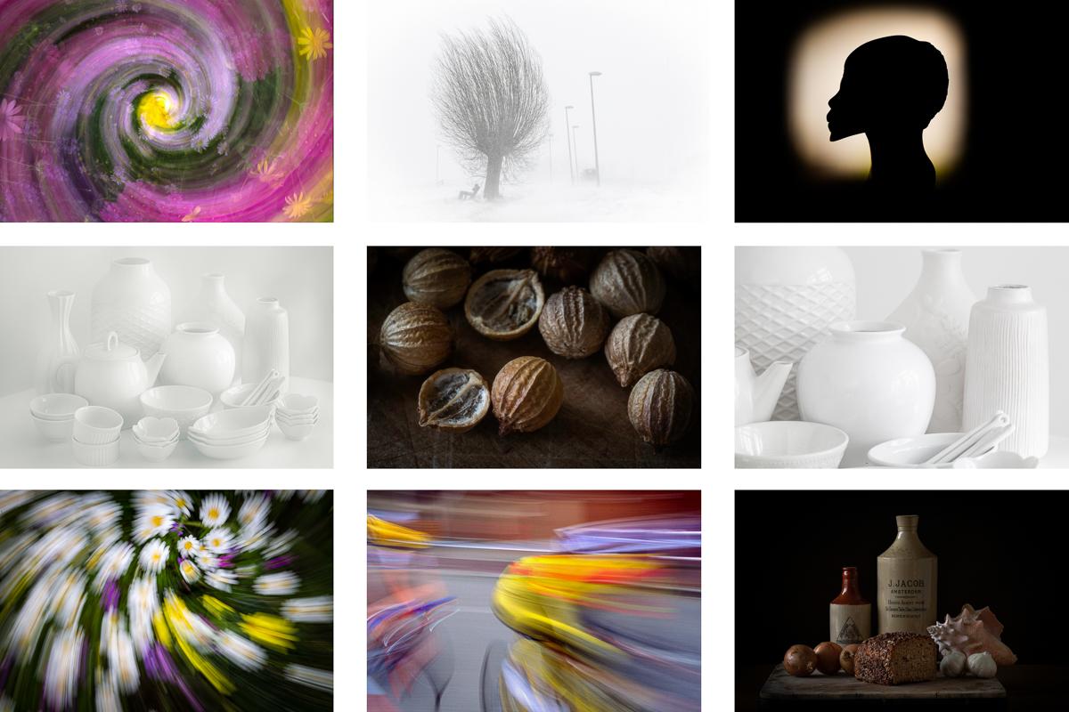 Creatieve Technieken: highkey, lowkey, bewegingsfotografie & silhouetten (6 Zoom-avonden)