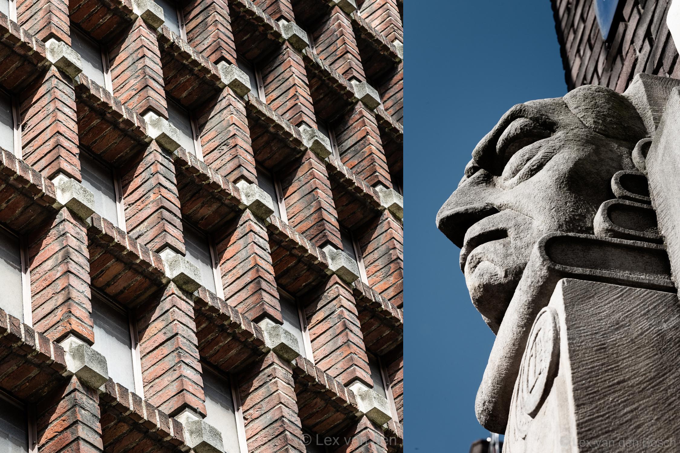 Fotowandelworkshop Architectuur in Amsterdam-Zuid; Plan Zuid & Amsterdamse School